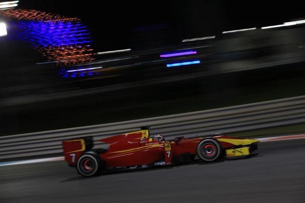2013 GP2 Series Test 3 Yas Marina Circuit, Abu Dhabi, UAE. Day 3, Thursday 7th November 2013. Raffaele Marciello (ITA, Racing Engineering)  World Copyright: Sam Bloxham/LAT Photographic. ref: Digital Image IMG_6082