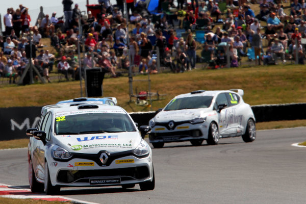 2014 Renault Clio Cup, Snetterton, Norfolk. 1st - 3rd August 2014. Charles Ladell (GBR) WDE Motorsport Renault Clio Cup. World Copyright: Ebrey / LAT Photographic.