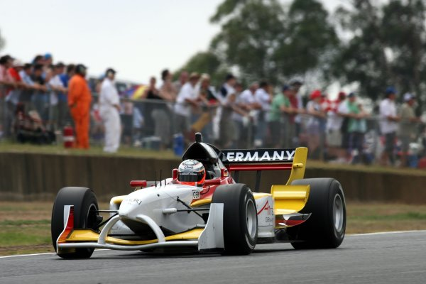 04.02 2007 Eastern Creek, Australia, Nico Hülkenberg, Driver of A1Team Germany - A1GP World Cup of Motorsport 2006/07, Round 7, Eastern Creek, Sunday Race 1 - Copyright A1GP - Free for editorial usage