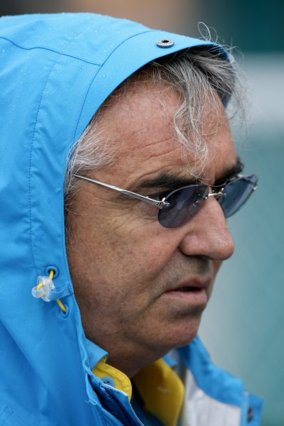 2006 Japanese Grand Prix - Friday Practice Suzuka, Japan. 5th - 8th October 2006 Flavio Briatore, Renault, portrait. World Copyright: Charles Coates/LAT Photographic. ref: Digital Image ZK5Y5555
