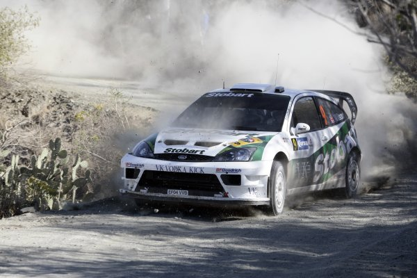 2006 FIA World Rally Champs. Round Three;Rally Mexico.; 2nd - 5th March 2006.Matthew Wilson; Ford; action.World Copyright: LAT/McKleinref: WRCMEX06-14 JPG