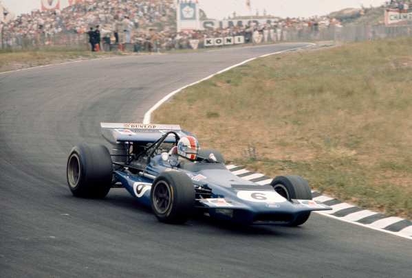 1970 Dutch Grand Prix.Zandvoort, Holland.19-21 June 1970.Francois Cevert (March 701 Ford).Ref-70 HOL 78.World Copyright - LAT Photographic