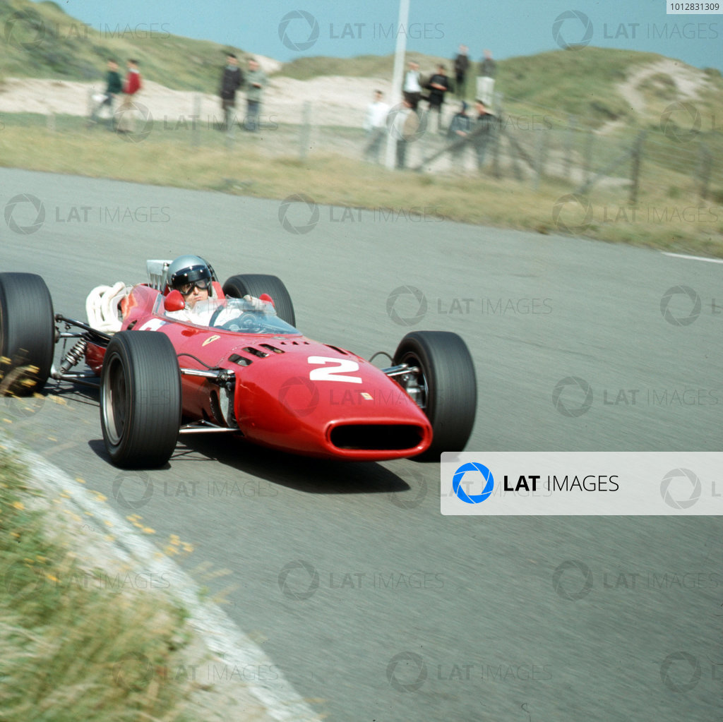 Zandvoort, Holland.22-24 July 1966.Lorenzo Bandini (Ferrari 312) 6th position.Ref-3/2283.World Copyright - LAT Photographic