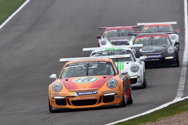 2014 Porsche Carrera Cup,Donington Park, 19th-20th April 2014,Justin Sherwood (GBR)World copyright. Ebbrey/LAT Photographic
