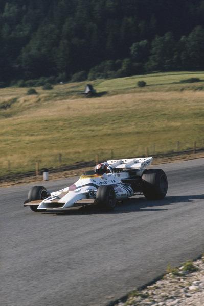 1971 Austrian Grand Prix.  Osterreichring, Zeltweg, Austria. 13-15th August 1971.  Jo Siffert, BRM P160, 1st position.  Ref: 71AUT02. World Copyright: LAT Photographic
