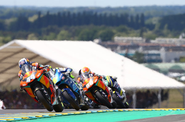 2017 Moto2 Championship - Round 5 Le Mans, France Sunday 21 May 2017 Miguel Oliveira, Red Bull KTM Ajo World Copyright: Gold & Goose Photography/LAT Images ref: Digital Image 671764
