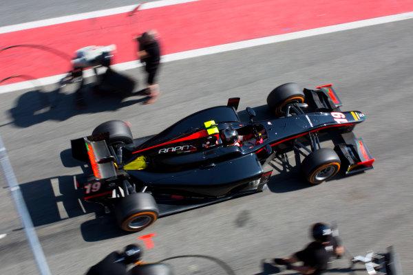 Circuit de Barcelona Catalunya, Barcelona, Spain. Tuesday 14 March 2017. Johnny Cecotto (VEN, Rapax). Action. Photo: Alastair Staley/FIA Formula 2 ref: Digital Image 580A0873