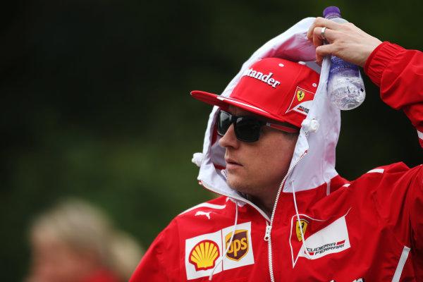 Shanghai International Circuit, Shanghai, China.  Friday 07 April 2017. Kimi Raikkonen, Ferrari. World Copyright: LAT Images ref: Digital Image AN7T5592