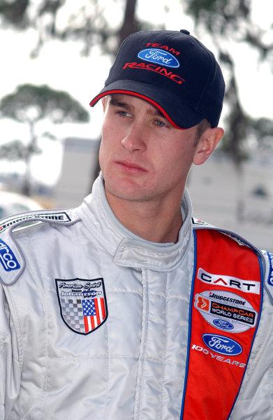 2003 Champ Car Spring Training.Sebring, Florida, USA.4-6 February 2003.Ryan Hunter-Reay (American Spirit Team Johansson).World Copyright - Dan R. Boyd/LAT Photographic