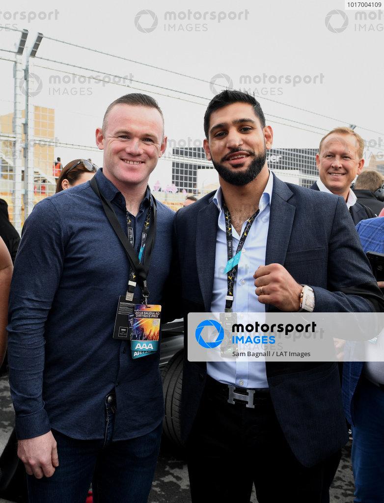 Wayne Rooney, footballer and Amir Khan, boxer