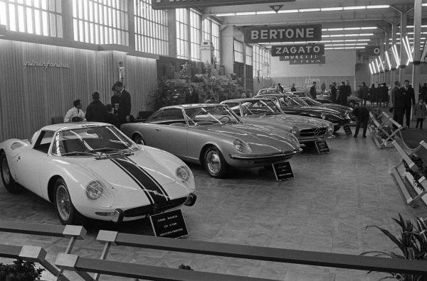 Pininfarina Ferrari 250LM Stradale/Pininfarina stand