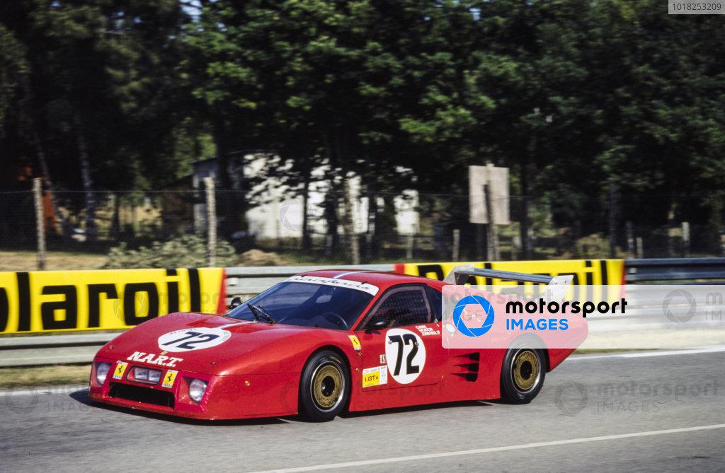 Alain Cudini / John Morton / John Paul, N.A.R.T., Ferrari 512 BB/LM.