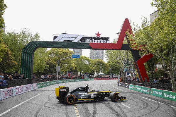 Demonstration with Guanyu Zhou, Renault