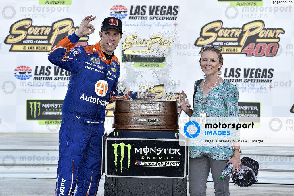 #2: Brad Keselowski, Team Penske, Ford Fusion Autotrader wins