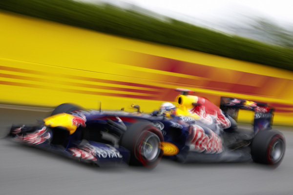 Sebastian Vettel, Red Bull Racing RB7 Renault.