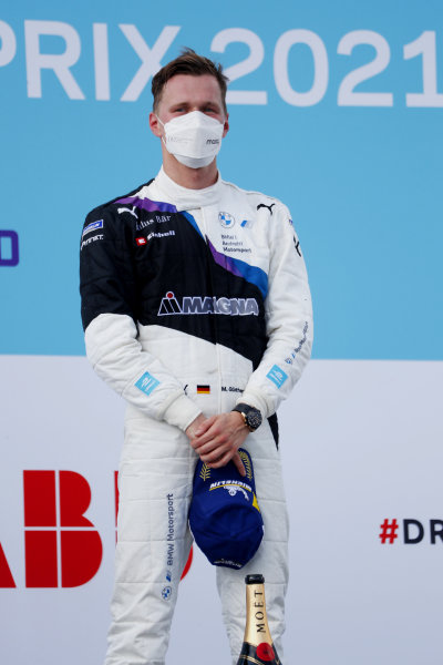 Maximilian Guenther (DEU), BMW I Andretti Motorsport, 1st position, on the podium