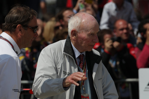 Silverstone, Northamptonshire, England8th July 2012Nigel Mansell and John SurteesWorld Copyright:Jakob Ebrey/LAT Photographic
