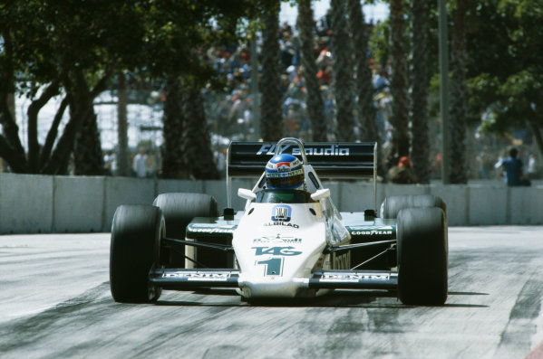 1983 United States Grand Prix West  Long Beach, California, USA. 25-27th March 1983.  Keke Rosberg, Williams FW08C Ford, retired.  Ref: 83LB16. World copyright: LAT Photographic