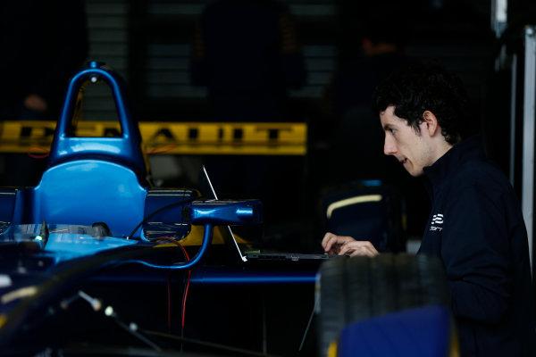 FIA Formula E Test Day, Donington Park, UK.  3rd - 4th July 2014.  e.dams. Photo: Zak Mauger/FIA Formula E ref: Digital Image _L0U4392