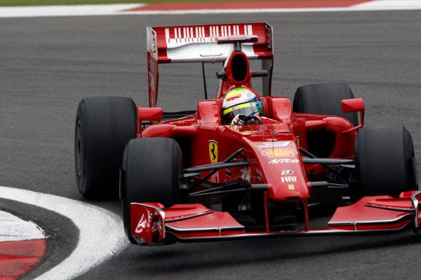 Nurburgring, Germany10th July 2009Felipe Massa, Ferrari F60. Action. World Copyright: Andrew Ferraro/LAT Photographicref: Digital Image _H0Y0060