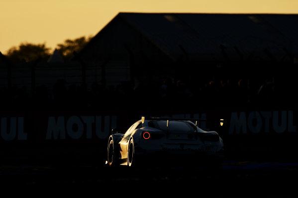 2017 Le Mans 24 Hours Circuit de la Sarthe, Le Mans, France. Saturday 17 June 2017 #54 Spirit of Race Ferrari 488 GTE: Thomas Flohr, Francesco Castellacci, Olivier Beretta World Copyright: Rainier Ehrhardt/LAT Images ref: Digital Image 24LM-re-10400