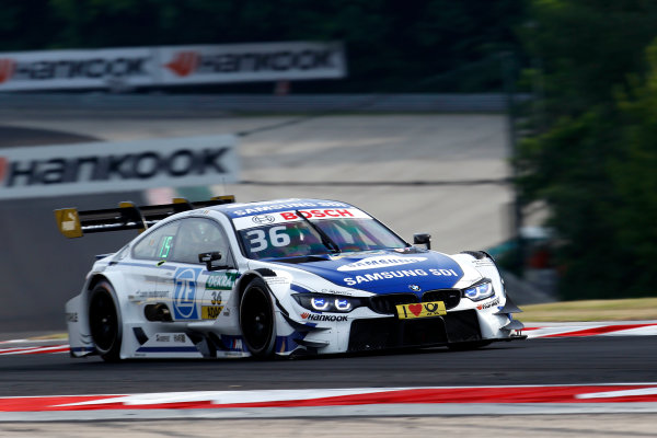 2017 DTM Round 3 Hungaroring, Budapest, Hungary. Friday 16 June 2017. Maxime Martin, BMW Team RBM, BMW M4 DTM World Copyright: Alexander Trienitz/LAT Images ref: Digital Image 2017-DTM-R3-HUN-AT1-0216