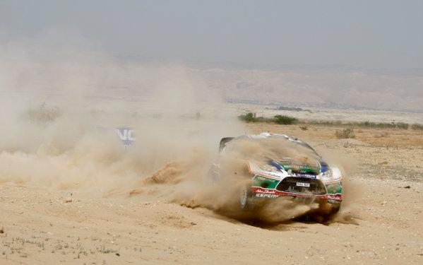 Round 04 Rally Jordan. 14th-16th April 2011.Al qassimi Khalid, Ford WRC, Action.Worldwide Copyright: McKlein/LAT