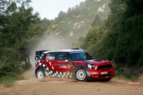 Round 05-Rally Italia Sardegna. 05th-08th May 2011.Kris Meeke, Mini WRC, Action.Worldwide Copyright: McKlein/LAT