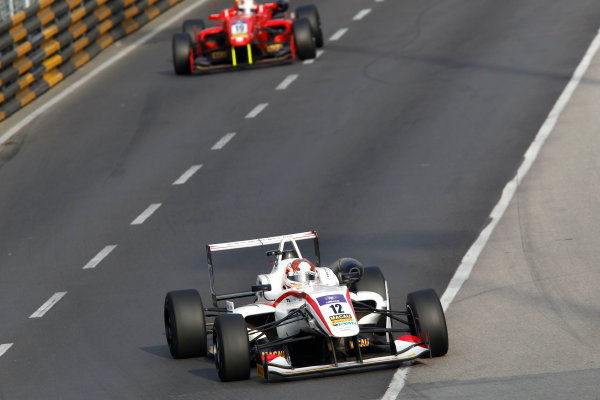 2016 Macau Formula 3 Grand Prix Circuit de Guia, Macau, China 17th - 20th November 2016 Wing Chung Chang (MAC) ThreeBond with T-Sport Dallara NBE. World Copyright: XPB Images/LAT Photographic ref: Digital Image XPB_855375_HiRes