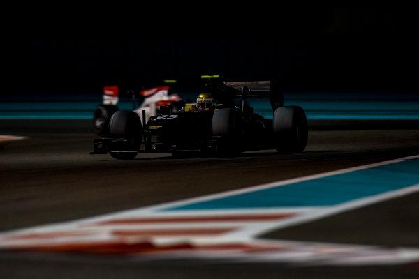 2016 GP2 Series Test 3 Yas Marina Circuit, Abu Dhabi, United Arab Emirates. Friday 2 December 2016. Sean Gelael (INA, Arden International)  Photo: Zak Mauger/GP2 Series Media Service. ref: Digital Image _L0U4846