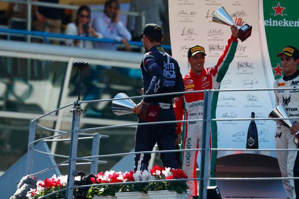 2017 FIA Formula 2 Round 9. Autodromo Nazionale di Monza, Monza, Italy. Sunday 3 September 2017. Antonio Fuoco (ITA, PREMA Racing).  Photo: Sam Bloxham/FIA Formula 2. ref: Digital Image _W6I4997