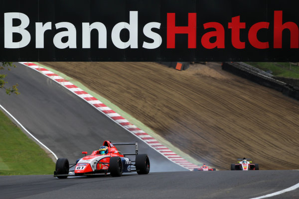 2017 British MSA F4 Championship, Brands Hatch, Kent. 30th September - 1st October 2017, Oscar Piastri (AUS) TRS Arden British F4 World copyright. JEP/LAT Images