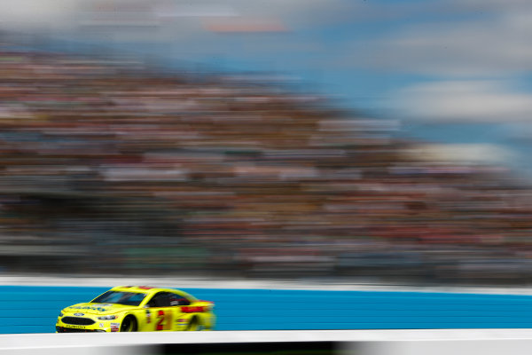 Monster Energy NASCAR Cup Series TicketGuardian 500 ISM Raceway, Phoenix, AZ USA Sunday 11 March 2018 Paul Menard, Wood Brothers Racing, Ford Fusion Menards / Dutch Boy World Copyright: Barry Cantrell NKP / LAT Images