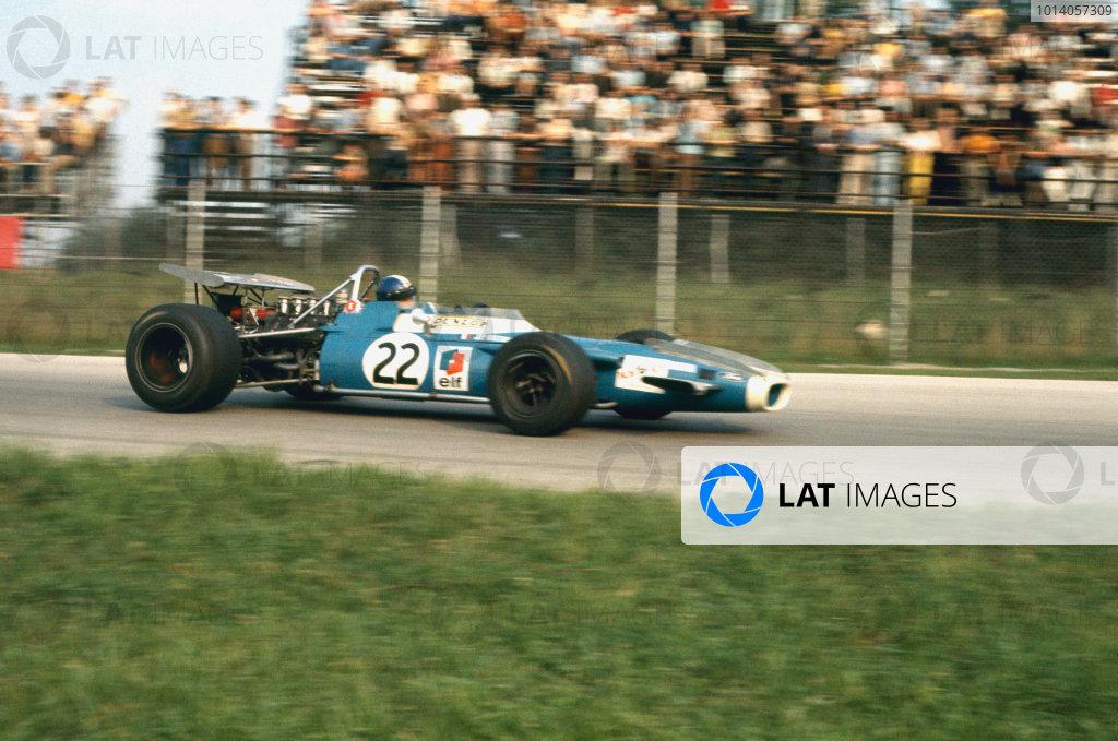1969 Italian Grand Prix.  Monza, Italy. 5-7th September 1969.  Jean-Pierre Beltoise, Matra MS80 Ford, 3rd position.  Ref: 69ITA01. World Copyright: LAT Photographic