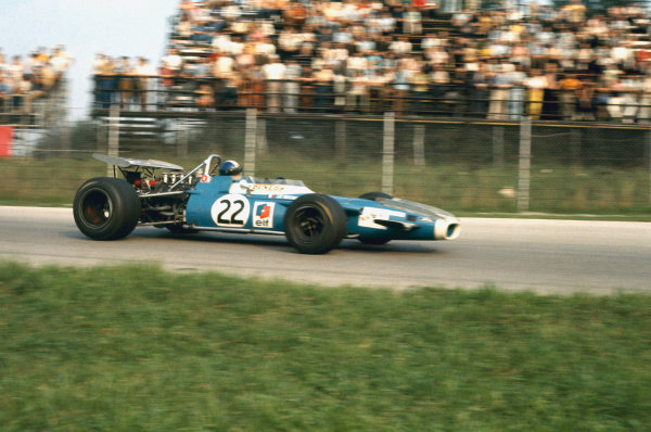1969 Italian Grand Prix.  Monza, Italy. 5-7th September 1969.  Jean-Pierre Beltoise, Matra MS80 Ford, 3rd position.  Ref: 69ITA01. World Copyright: LAT Photographic
