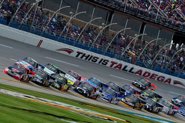 October 18-19, 2013, Talladega, Alabama USA James Buescher pack © 2013, Brian Czobat LAT Photo USA
