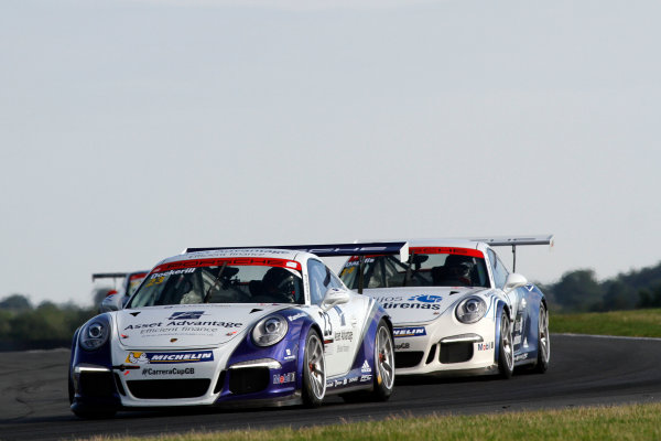 2015 Porsche Carrera Cup, Snetterton, Norfolk. 8th-9th August 2015, Iain Dockerill (GBR)  World copyright.Jakob Ebrey/LAT Photographic