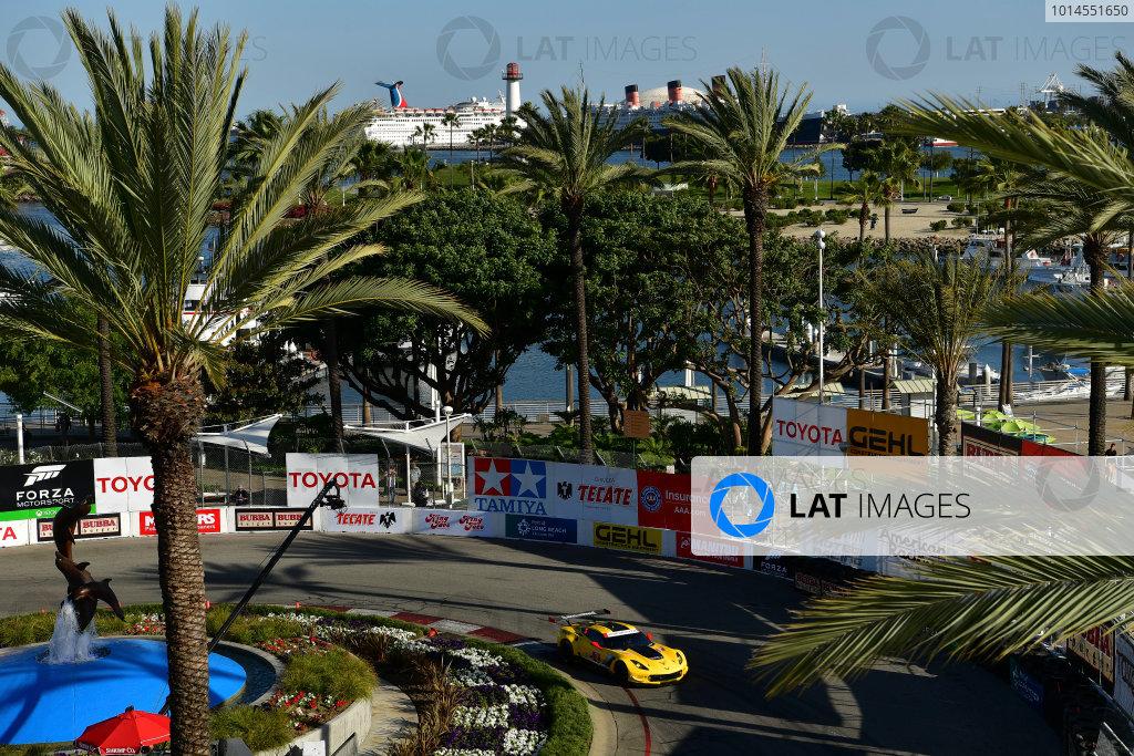 15-16 April, 2016, Long Beach, California USA 3, Chevrolet, Corvette C7, GTLM, Antonio Garcia, Jan Magnussen ©2016, Richard Dole LAT Photo USA
