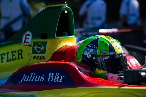 2015 Formula E  Buenos Aires e-Prix, Argentina Saturday 6 February 2016. Lucas Di Grassi (BRA), ABT Audi Sport FE01  Photo: Sam Bloxham/FIA Formula E/LAT ref: Digital Image _SBL1059