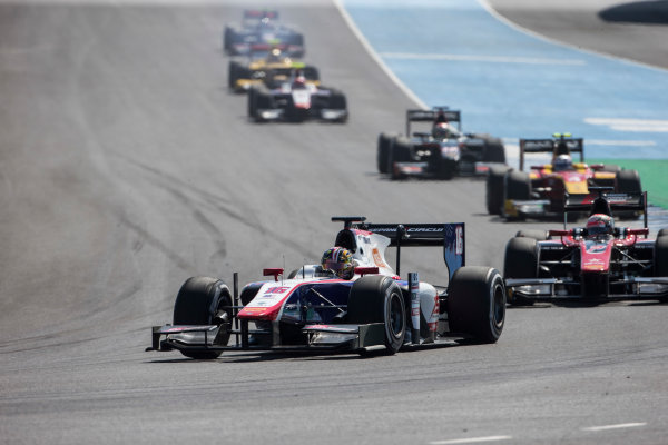 2017 FIA Formula 2 Round 10. Circuito de Jerez, Jerez, Spain. Sunday 8 October 2017. Nabil Jeffri (MAS, Trident).  Photo: Andrew Ferraro/FIA Formula 2. ref: Digital Image _FER3288