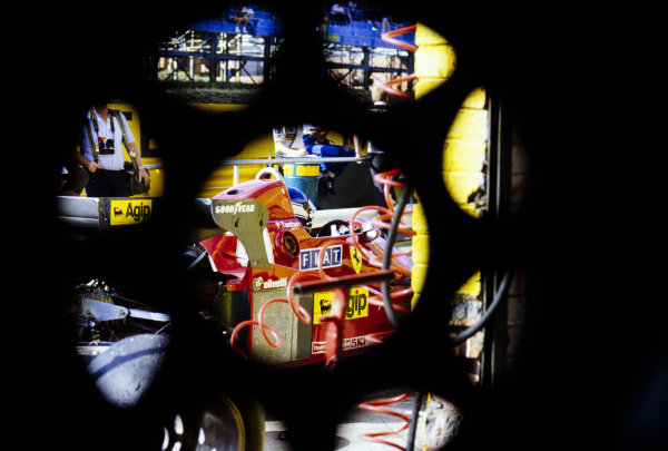 Patrick Tambay, Ferrari 126C3.