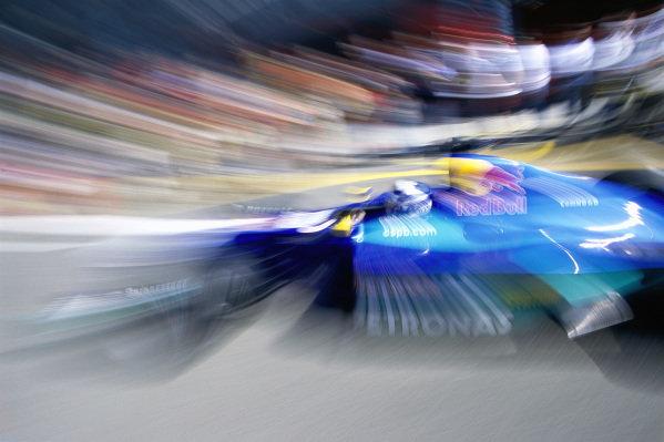 Kimi Räikkönen, Sauber C20 Petronas.
