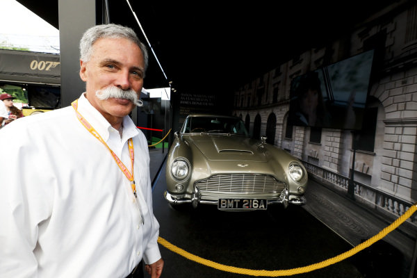 Chase Carey, Chairman, Formula 1 at the Bond in Motion Exhibition