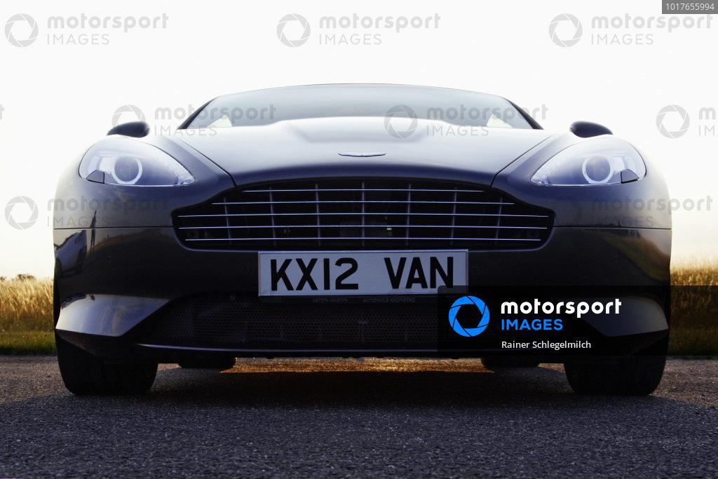 Aston Martin Virage Coupe, 2012. Mainz-Finthen, Germany.