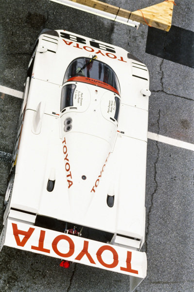 P. J. Jones / Rocky Moran / Mark Dismore / Juan Manuel Fangio II, All American Racers, Eagle Mk III Toyota.