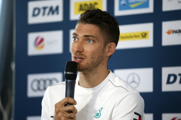 Press Conference, Edoardo Mortara, Mercedes-AMG Team HWA.