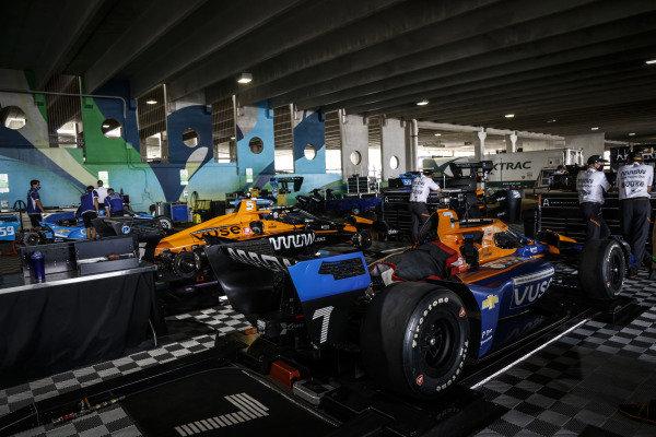 #5: Pato O'Ward, Arrow McLaren SP Chevrolet, #7: Felix Rosenqvist, Arrow McLaren SP Chevrolet