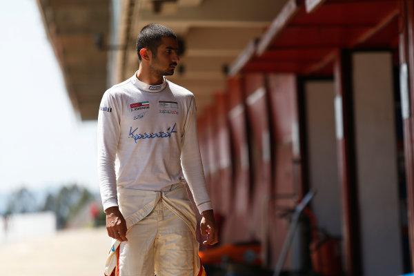 2015 GP3 Series Test 3 - Circuit de Catalunya, Barcelona, Spain. Thursday 23 April 2015. Zaid Ashkanani (KUW, Campos Racing)  Photo: Sam Bloxham/GP3 Series Media Service. ref: Digital Image _SBL1670