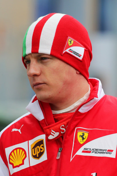 Kimi Raikkonen (FIN) Ferrari. Formula One Testing, Jerez, Spain, Day Two, Wednesday 29 January 2014.