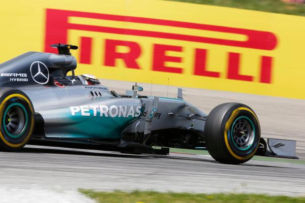 Red Bull Ring, Spielberg, Austria. Sunday 22 June 2014. Lewis Hamilton, Mercedes F1 W05 Hybrid. World Copyright: Charles Coates/LAT Photographic. ref: Digital Image _J5R1687